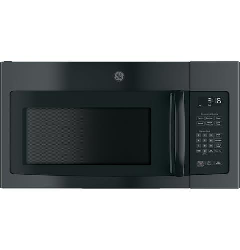 GE® 1.6 Cu. Ft. Over-the-Range Microwave Oven with Recirculating Venting– Model #: JNM3163DJBB