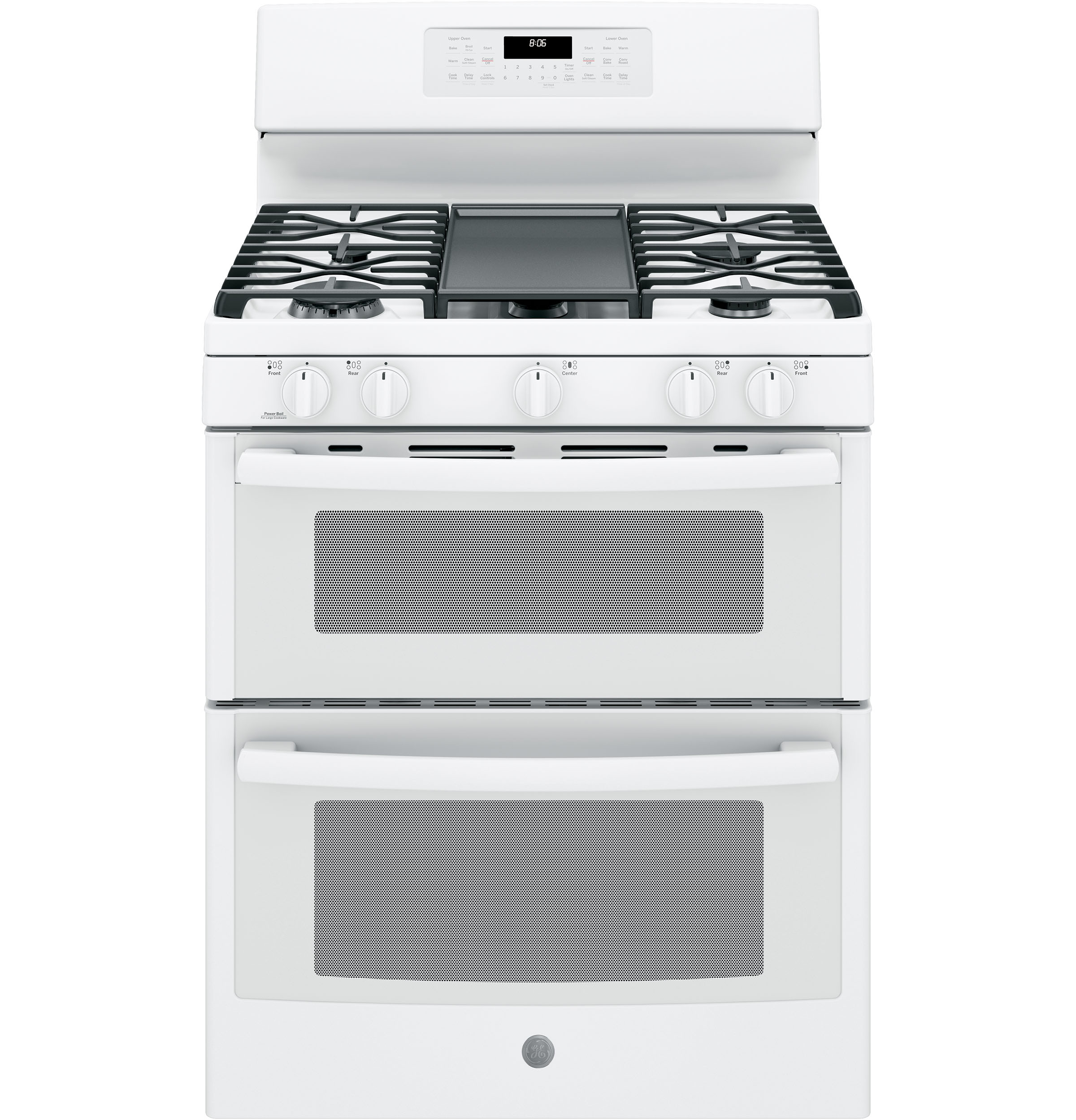 Ge 174 30 Quot Free Standing Gas Double Oven Convection Range