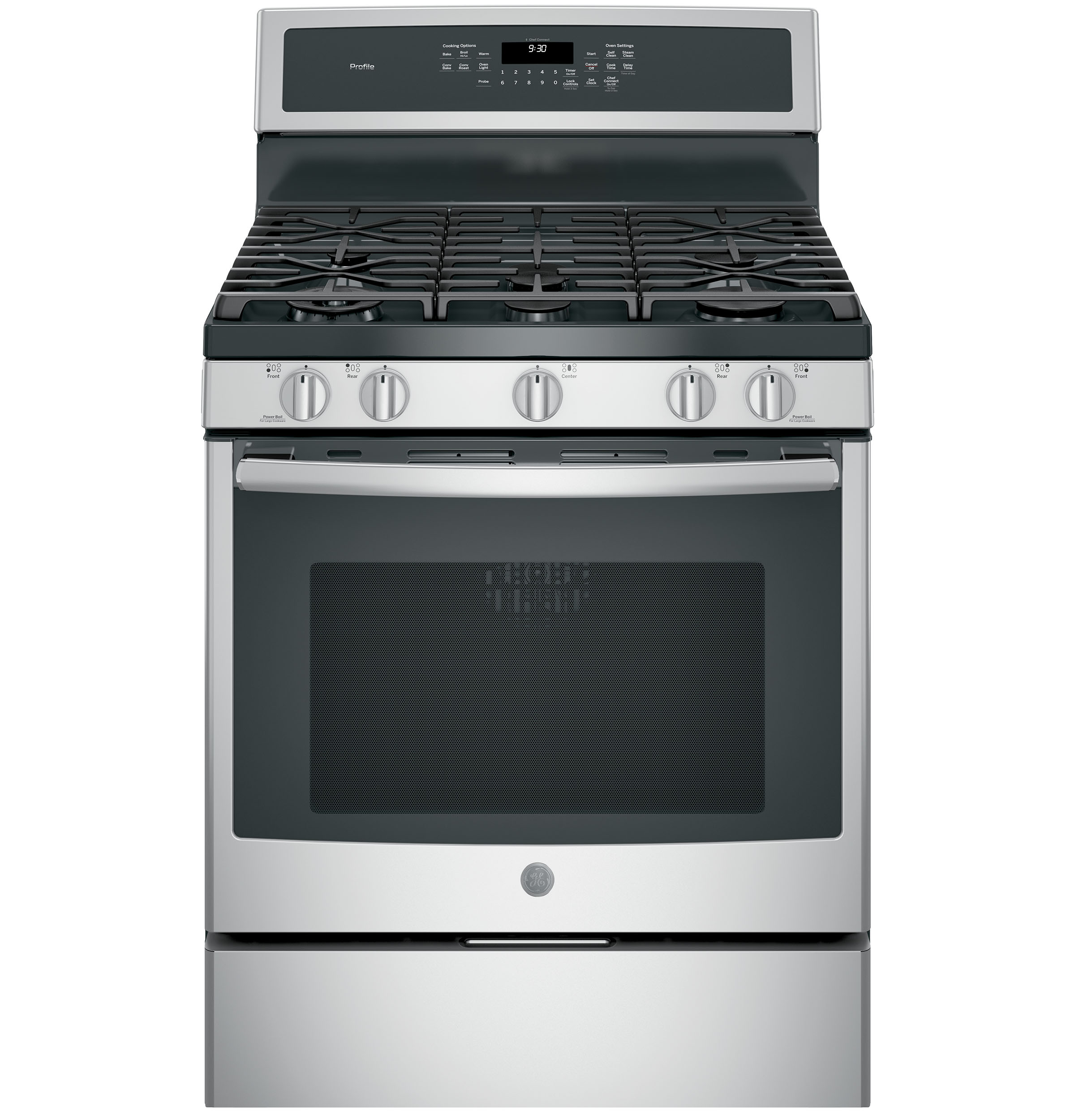 Ge Profile Cooktop ~ Ge profile™ series quot free standing gas convection range