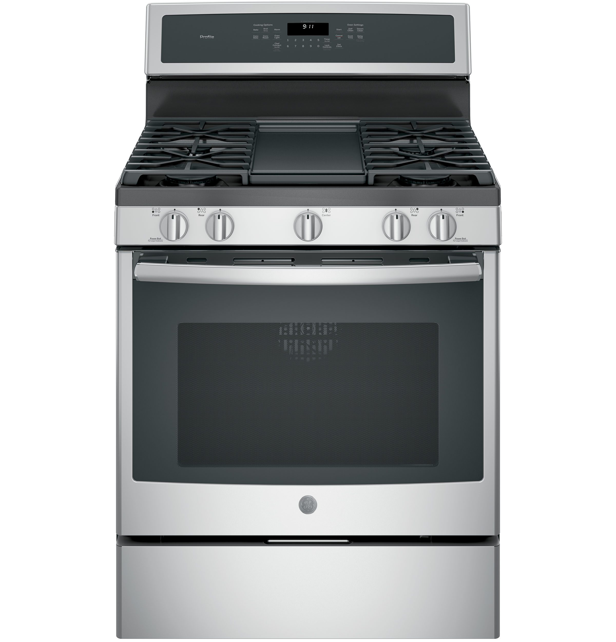 Ge Profile Series 30 Quot Free Standing Gas Convection Range