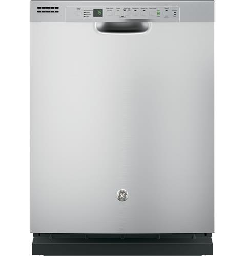 GE® Dishwasher with Front Controls– Model #: GDF610PSJSS