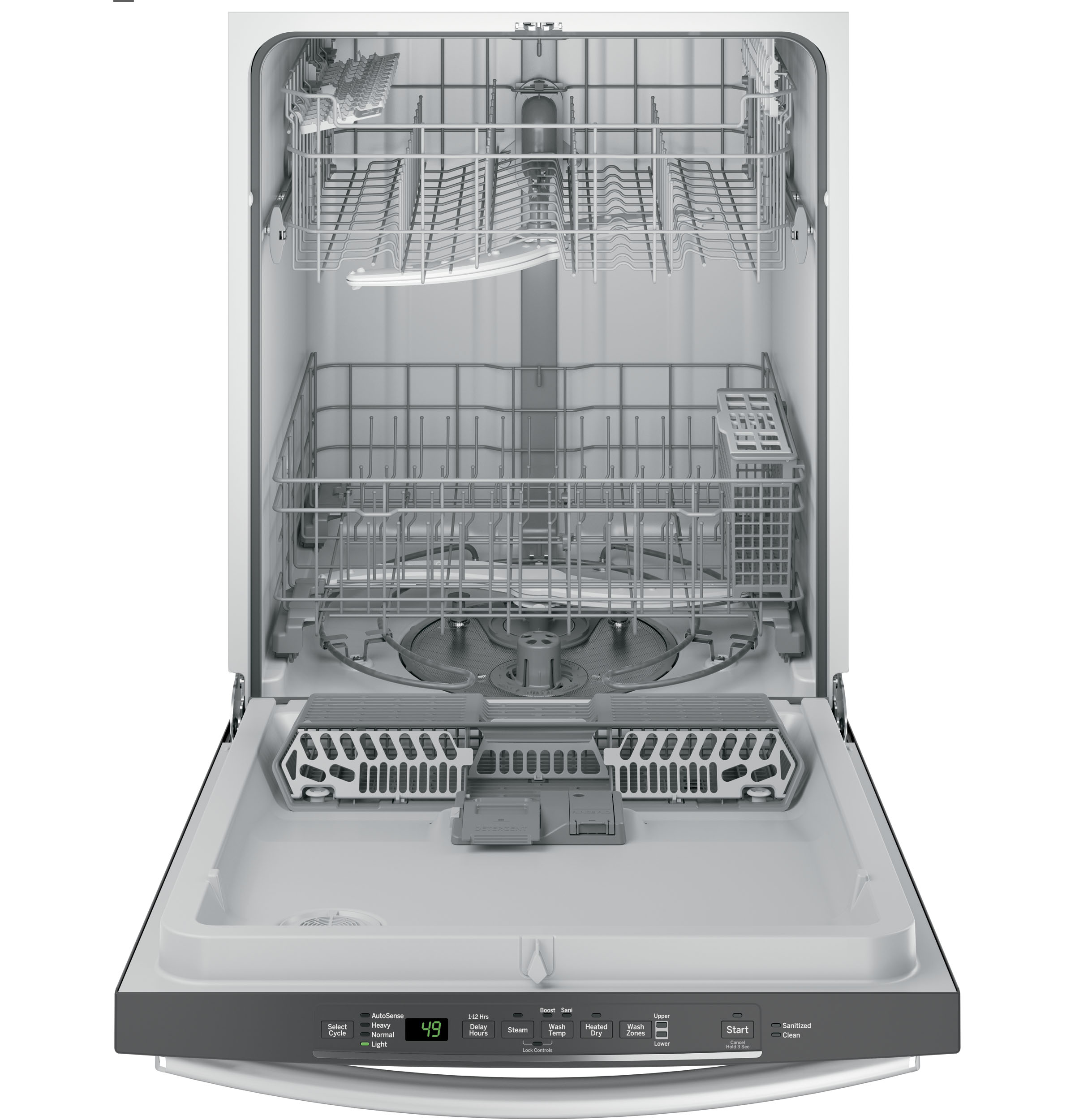 GE® Dishwasher with Hidden Controls | GDT545PSJSS | GE Appliances
