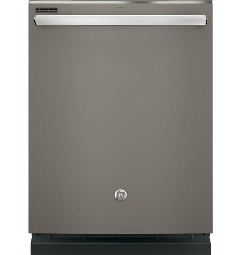 GE® Hybrid Stainless Steel Interior Dishwasher with Hidden Controls– Model #: GDT635HMJES