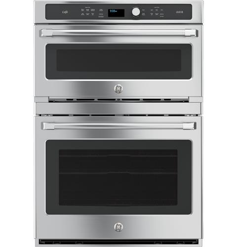 GE Café™ Series 30 in. Combination Double Wall Oven with Convection and Advantium® Technology– Model #: CT9800SHSS