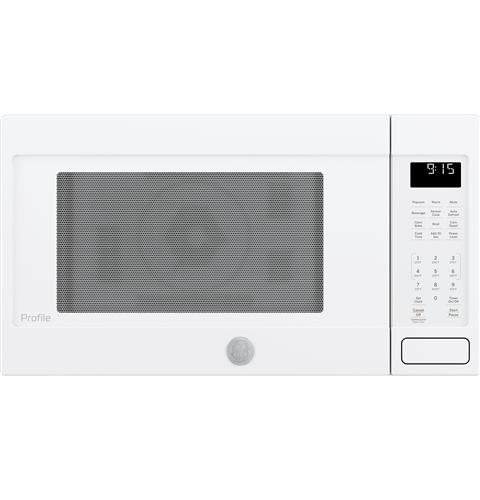GE Profile™ Series 1.5 Cu. Ft. Countertop Convection/Microwave Oven– Model #: PEB9159DJWW