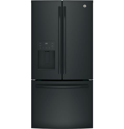 GE® ENERGY STAR® 23.8 Cu. Ft. French-Door Refrigerator– Model #: GFE24JGKBB