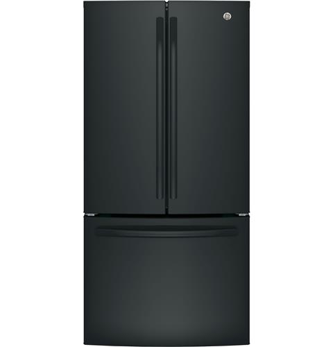 GE® ENERGY STAR® 24.7 Cu. Ft. French-Door Refrigerator– Model #: GNE25JGKBB