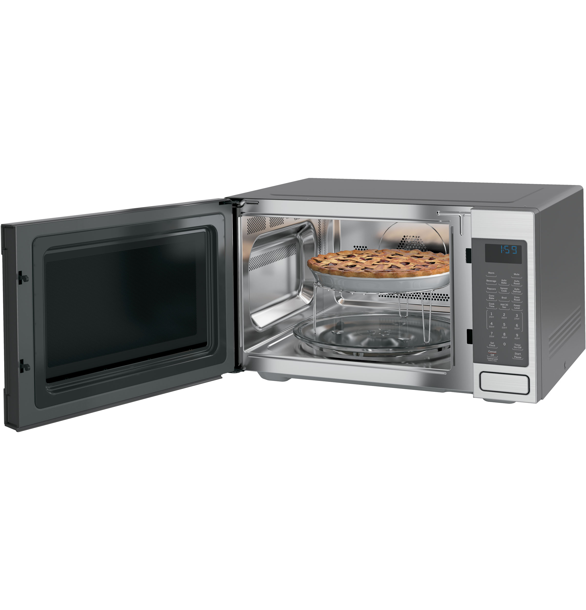 GE Café™ Series 1.5 Cu. Ft. Countertop Convection/Microwave Oven ...