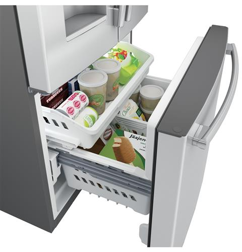 Multi-level freezer baskets