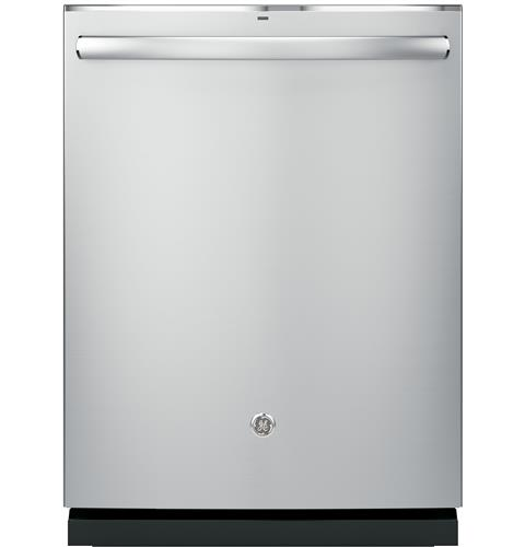 GE Profile™ Stainless Steel Interior Dishwasher with Hidden Controls– Model #: PDT825SSJSS