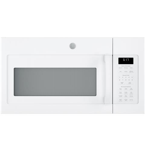 GE® 1.7 Cu. Ft. Over-the-Range Sensor Microwave Oven– Model #: JVM6175DKWW