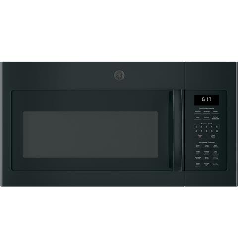 GE® Series 1.7 Cu. Ft. Over-the-Range Sensor Microwave Oven– Model #: JVM6175DKBB