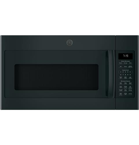 GE® Series 1.9 Cu. Ft. Over-the-Range Sensor Microwave Oven with Recirculating Venting– Model #: JNM7196DKBB