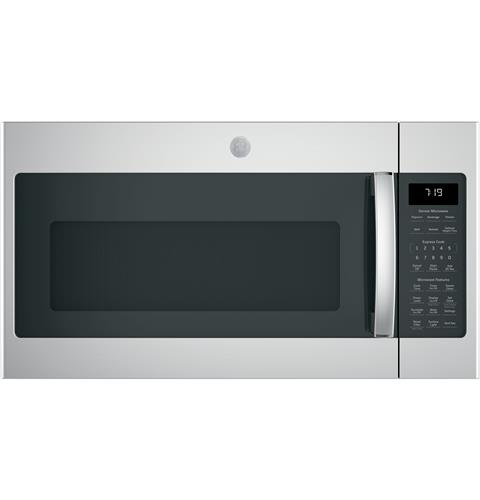 GE® 1.9 Cu. Ft. Over-the-Range Sensor Microwave Oven with Recirculating Venting– Model #: JNM7196SKSS
