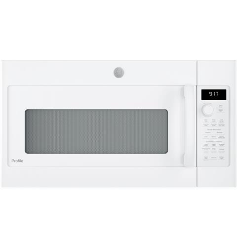 GE Profile™ Series 1.7 Cu. Ft. Convection Over-the-Range Microwave Oven– Model #: PVM9179DKWW
