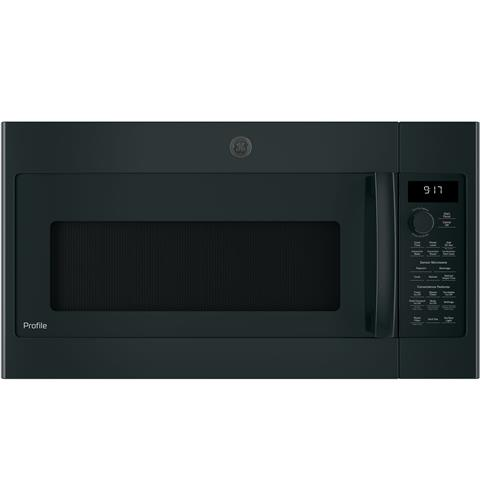 GE Profile™ Series 1.7 Cu. Ft. Convection Over-the-Range Microwave Oven– Model #: PVM9179DKBB