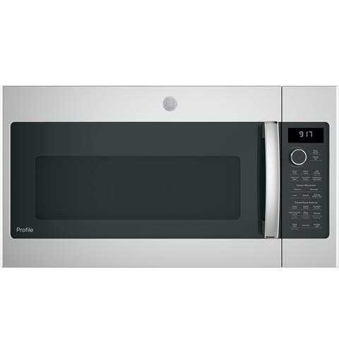 GE Profile™ Series 1.7 Cu. Ft. Convection Over-the-Range Microwave Oven– Model #: PVM9179SKSS
