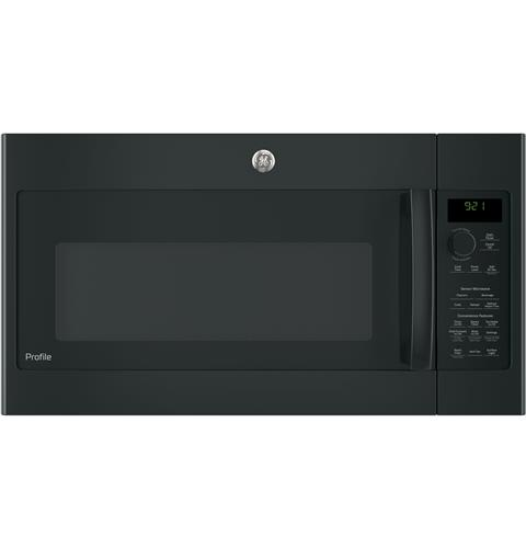 GE Profile™ Series 2.1 Cu. Ft. Over-the-Range Sensor Microwave Oven– Model #: PVM9215DKBB