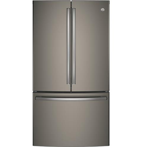 GE® Series ENERGY STAR® 28.5 Cu. Ft. French-Door Refrigerator– Model #: GNE29GMKES