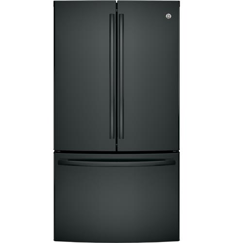 GE® ENERGY STAR® 28.5 Cu. Ft. French-Door Refrigerator– Model #: GNE29GGKBB