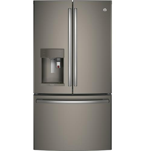 GE Profile™ Series ENERGY STAR® 27.8 Cu. Ft. French-Door Refrigerator with Keurig® K-Cup® Brewing System– Model #: PFE28PMKES