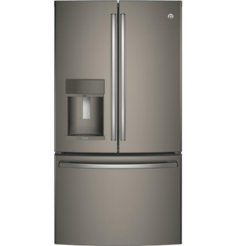 GE Profile™ Series ENERGY STAR® 27.8 Cu. Ft. French-Door Refrigerator with Hands-Free AutoFill– Model #: PFE28KMKES