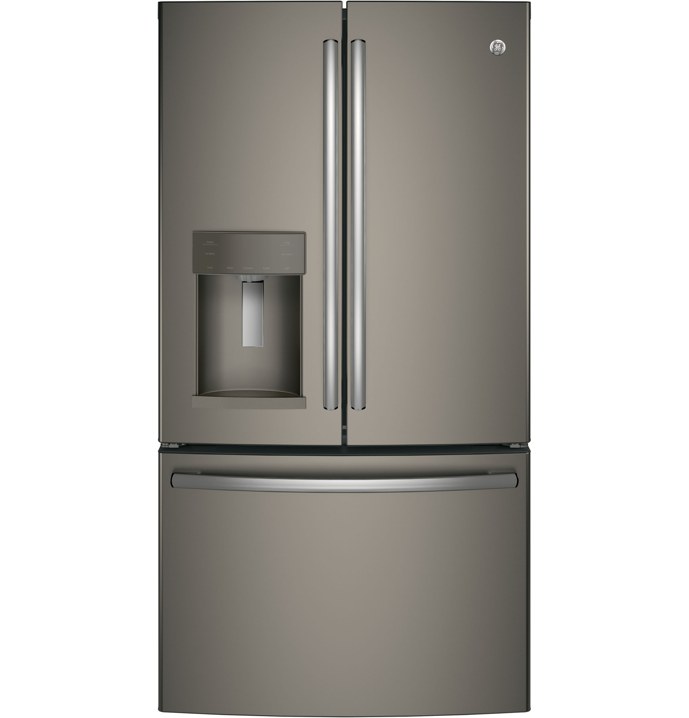 ice gallery appliances cu steel ft door refrigerator pl french frigidaire stainless shop com with maker dual refrigerators lowes samsung doors at problems