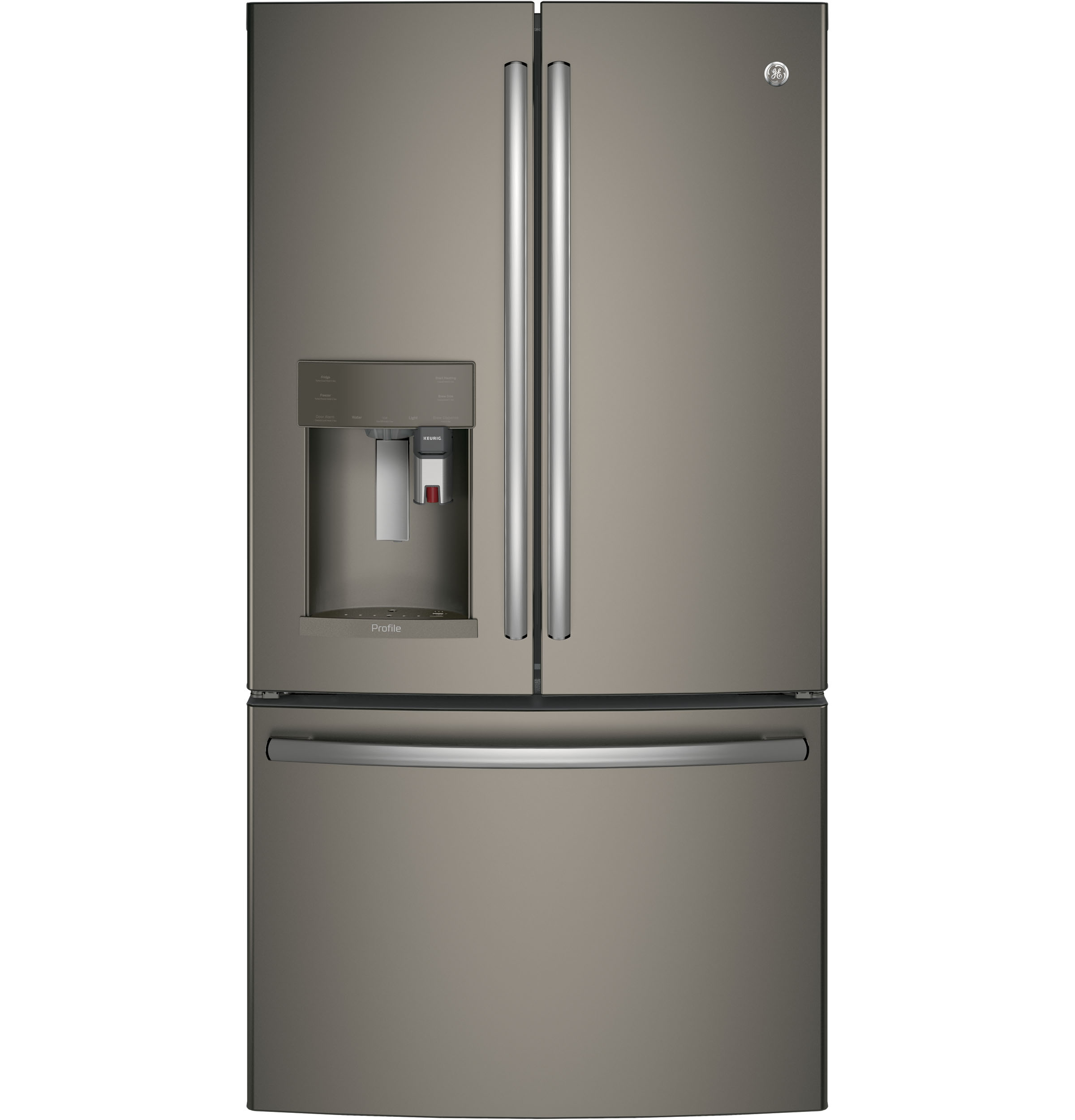 Ge Profile Series Energy Star 222 Cu Ft Counter Depth French