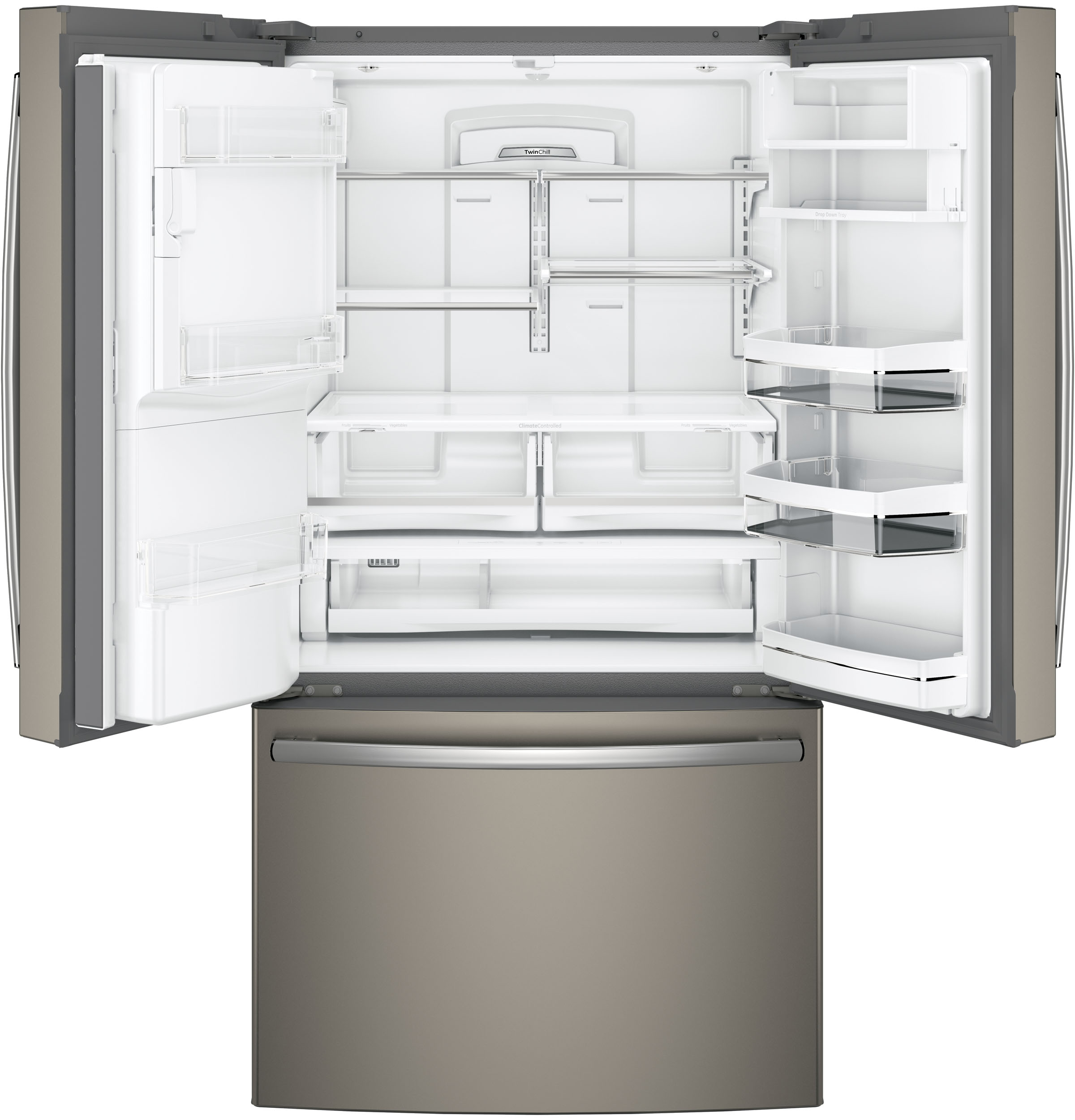 Design Ge Slate Refrigerator ge series energy 27 8 cu ft french door product image image