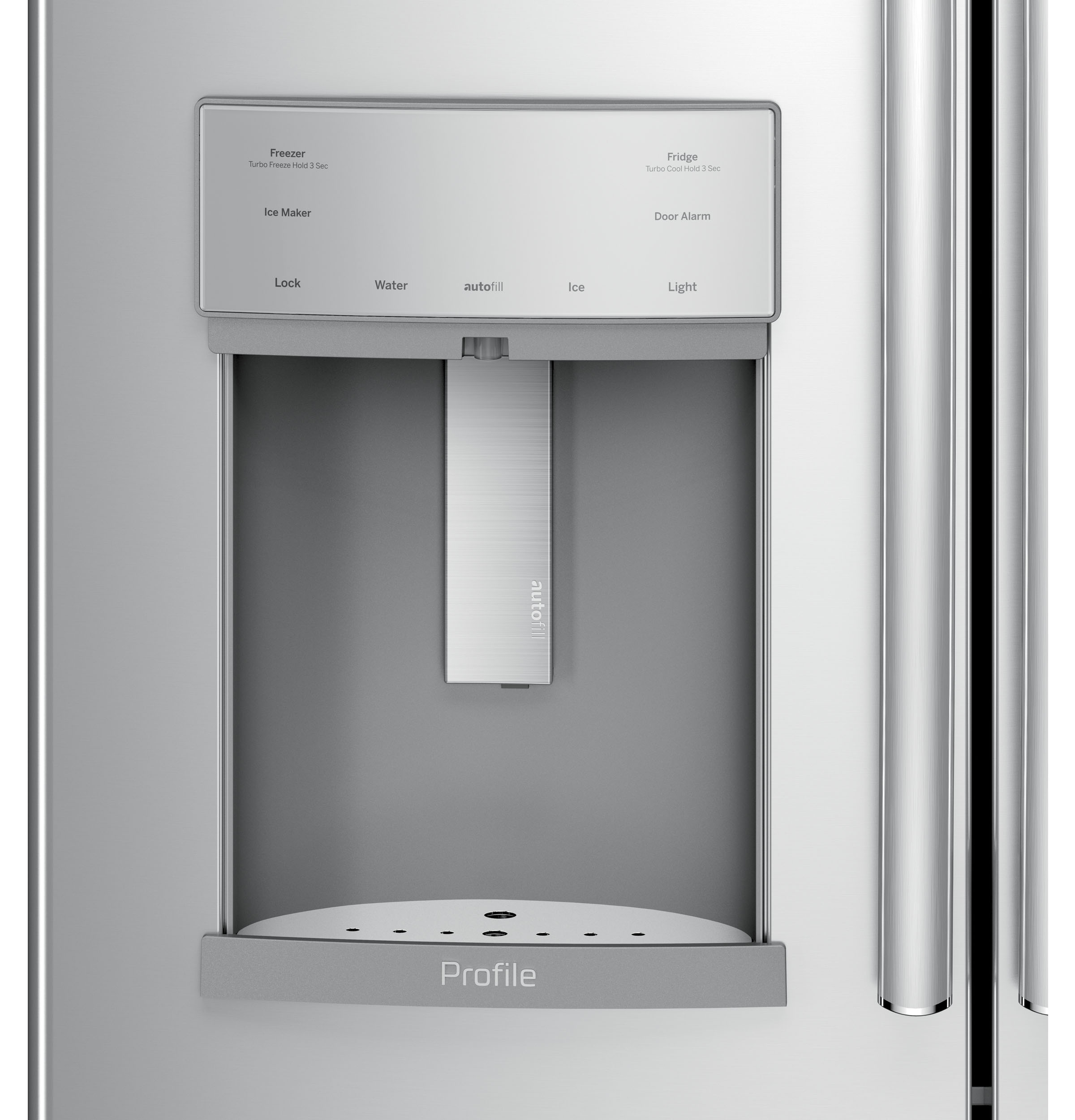 GE Profile™ Series 27 8 Cu  Ft  French-Door Refrigerator