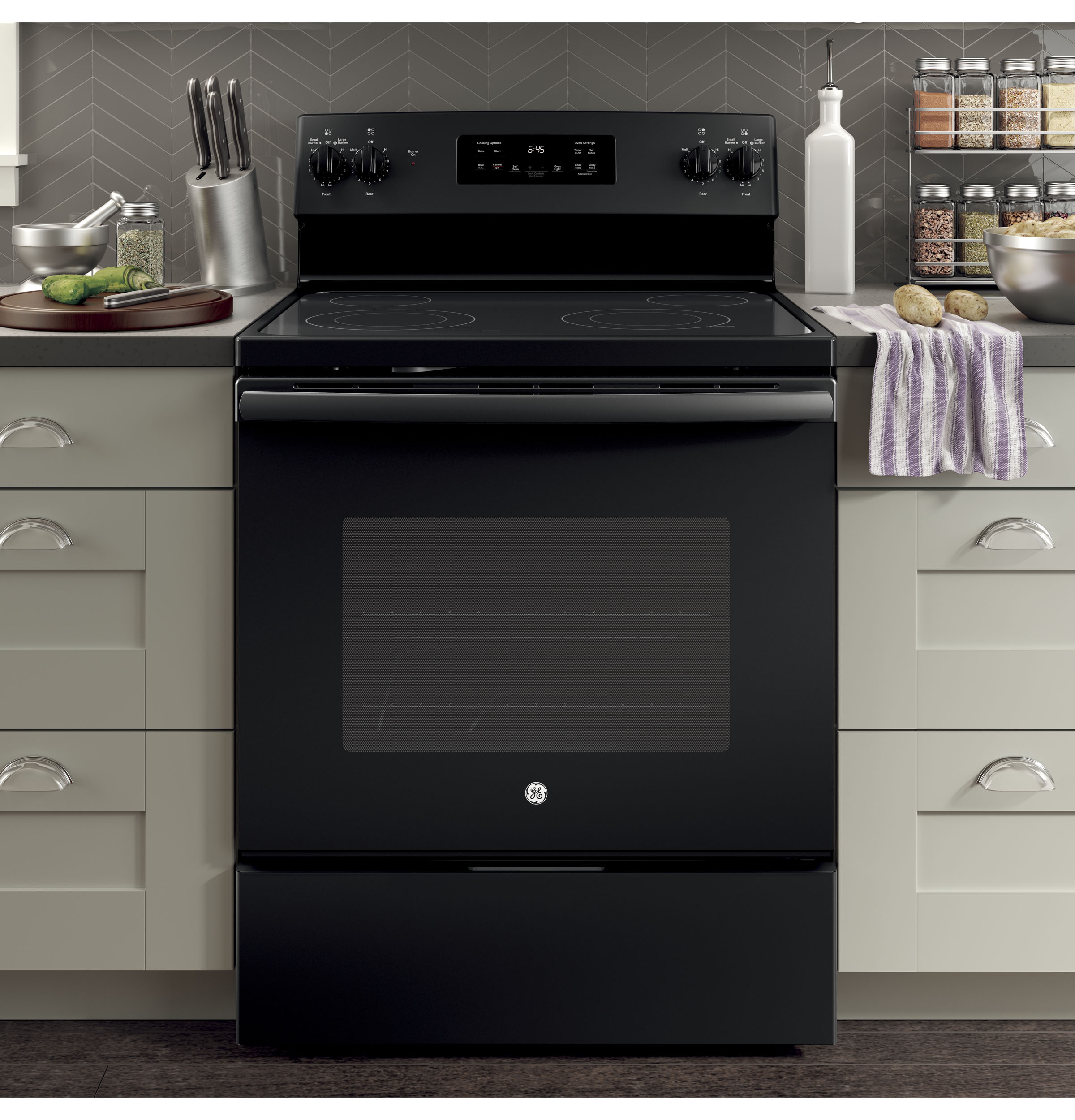 Ge 30 Free Standing Electric Range Jb645dkbb Appliances Want To Install A New 40 Amp Oven Have 50 Circuit 1 Of 10