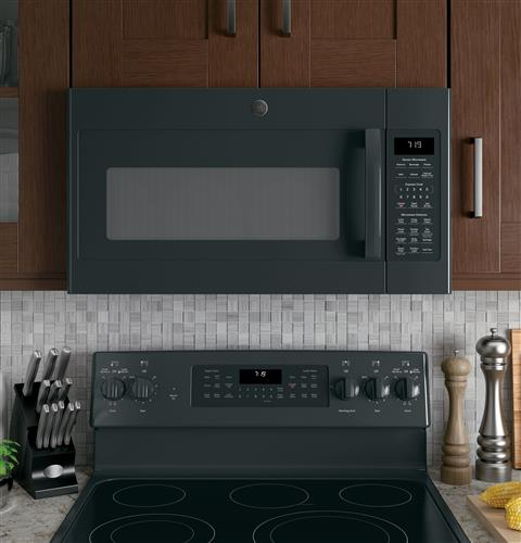 Ge 174 1 9 Cu Ft Over The Range Sensor Microwave Oven With