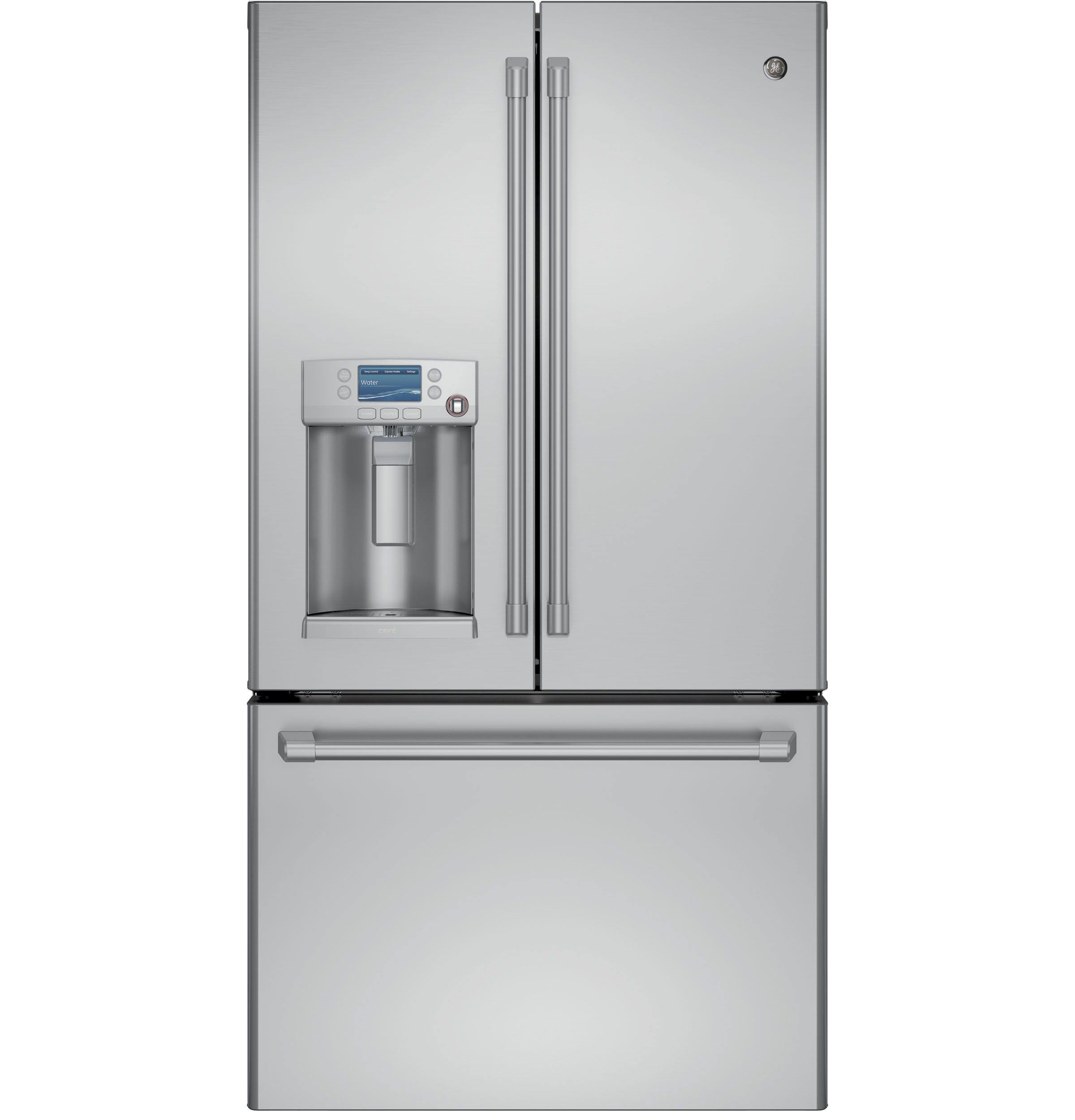 ge caf�™ series energy star� 27 8 cu  ft  french-door refrigerator with hot water  dispenser