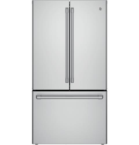 GE Café™ Series ENERGY STAR® 23.1 Cu. Ft. Counter-Depth French-Door Refrigerator– Model #: CWE23SSHSS