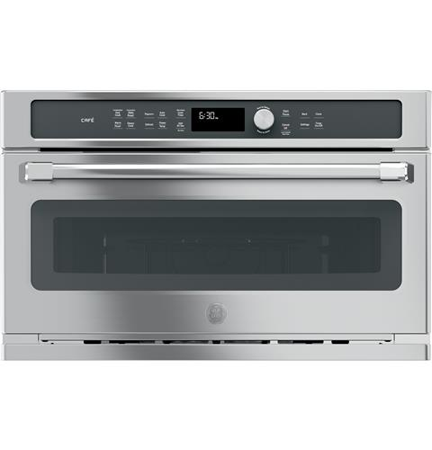 GE Café™ Series Built-In Microwave/Convection Oven– Model #: CWB7030SLSS
