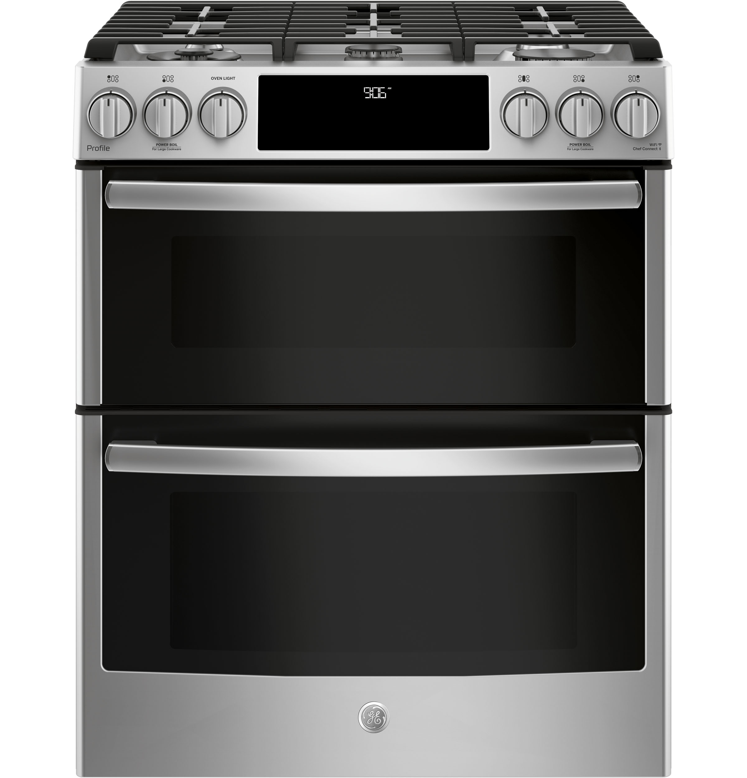 Ge Profile 30 Quot Slide In Front Control Gas Double Oven