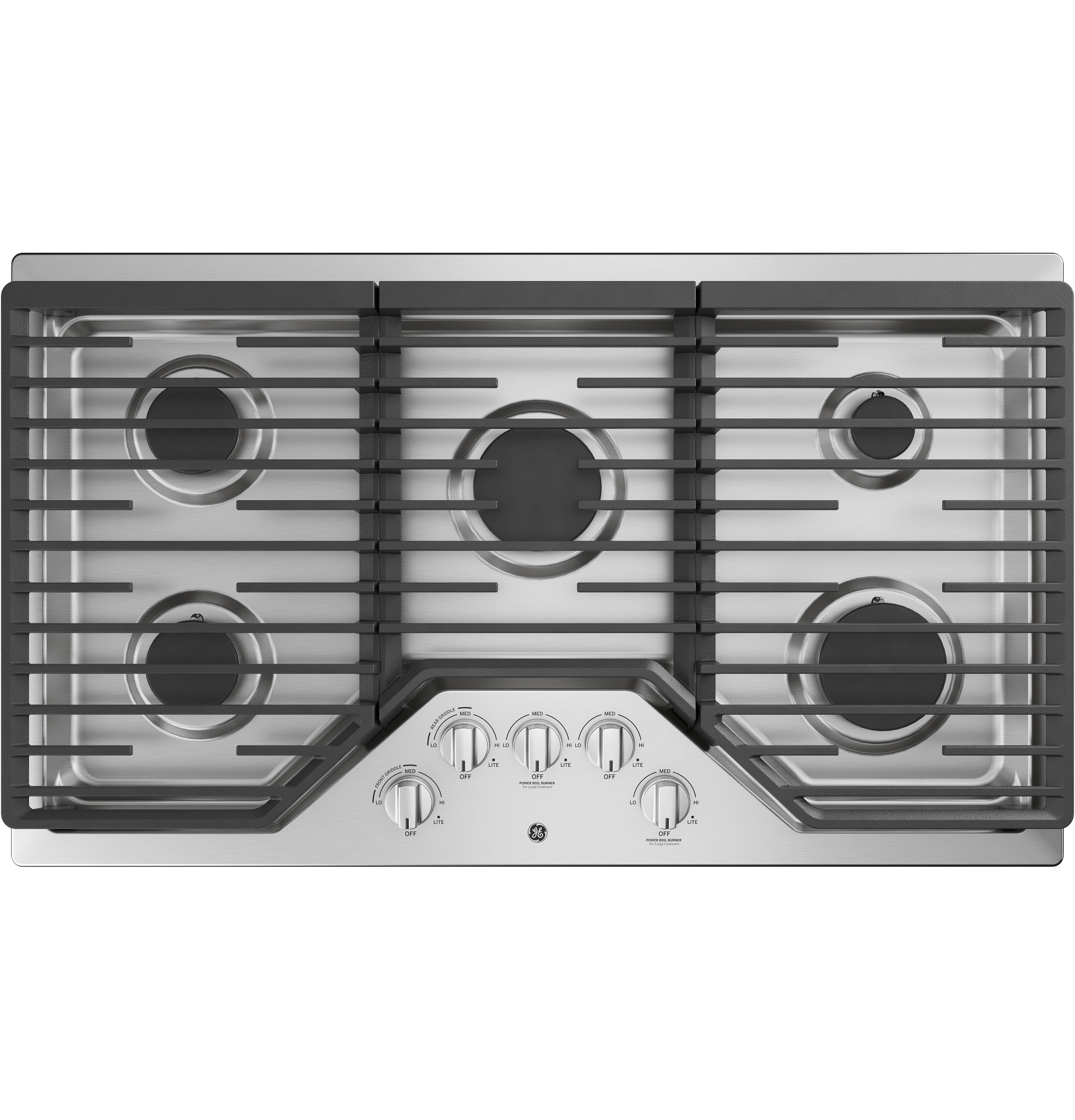 Ge 36 Built In Gas Cooktop Jgp5036slss Appliances Wiring Electric Oven And Hob Product Image