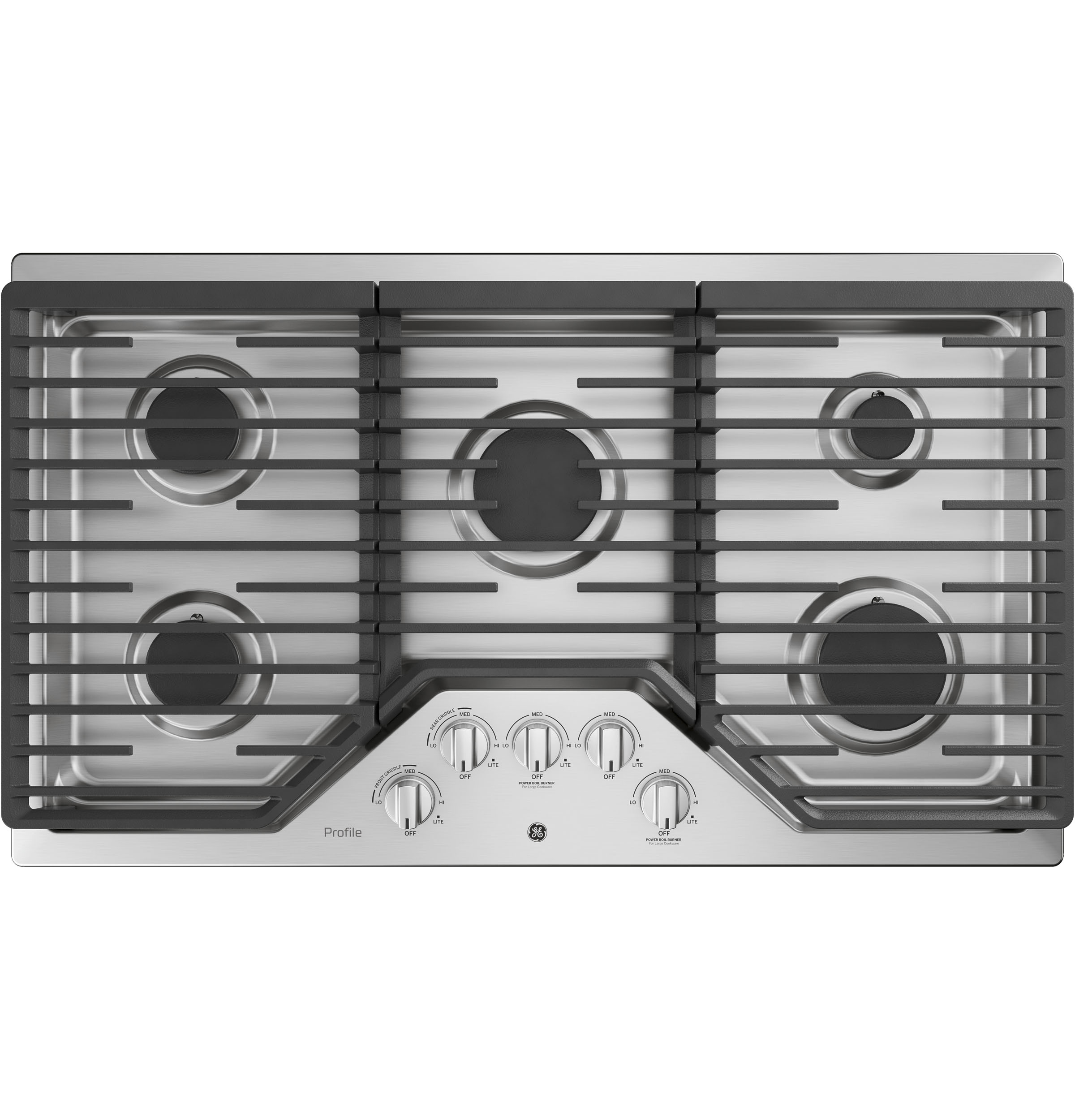 Ge Profile Series 36 Built In Gas Cooktop Pgp7036slss Cook Top And Light Fan Wiring Diagram Product Image