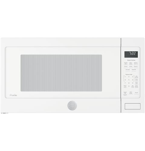 GE Profile™ Series 2.2 Cu. Ft. Countertop Sensor Microwave Oven– Model #: PES7227DLWW