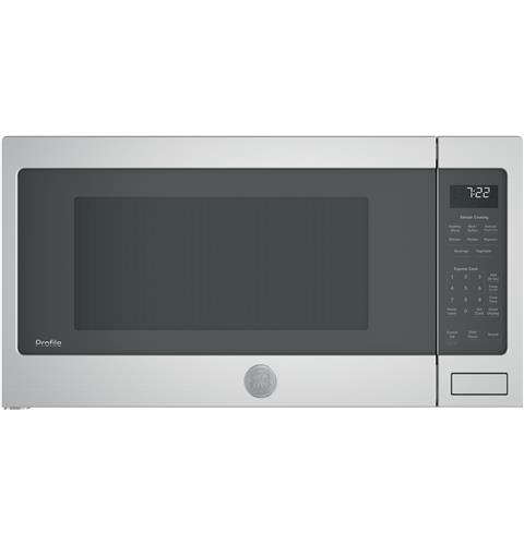 GE Profile™ Series 2.2 Cu. Ft. Countertop Sensor Microwave Oven– Model #: PES7227SLSS