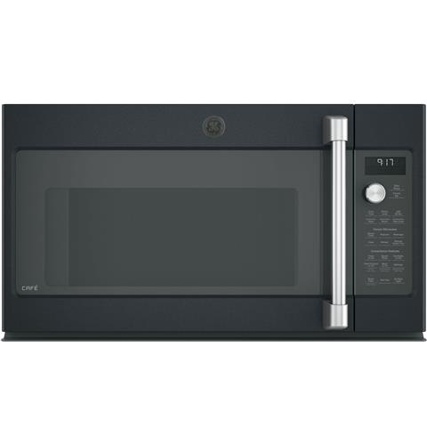 GE Café™ Series 1.7 Cu. Ft. Convection Over-the-Range Microwave Oven– Model #: CVM9179ELDS