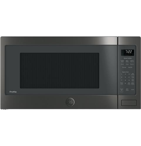GE Profile™ Series 2.2 Cu. Ft. Countertop Sensor Microwave Oven– Model #: PES7227BLTS