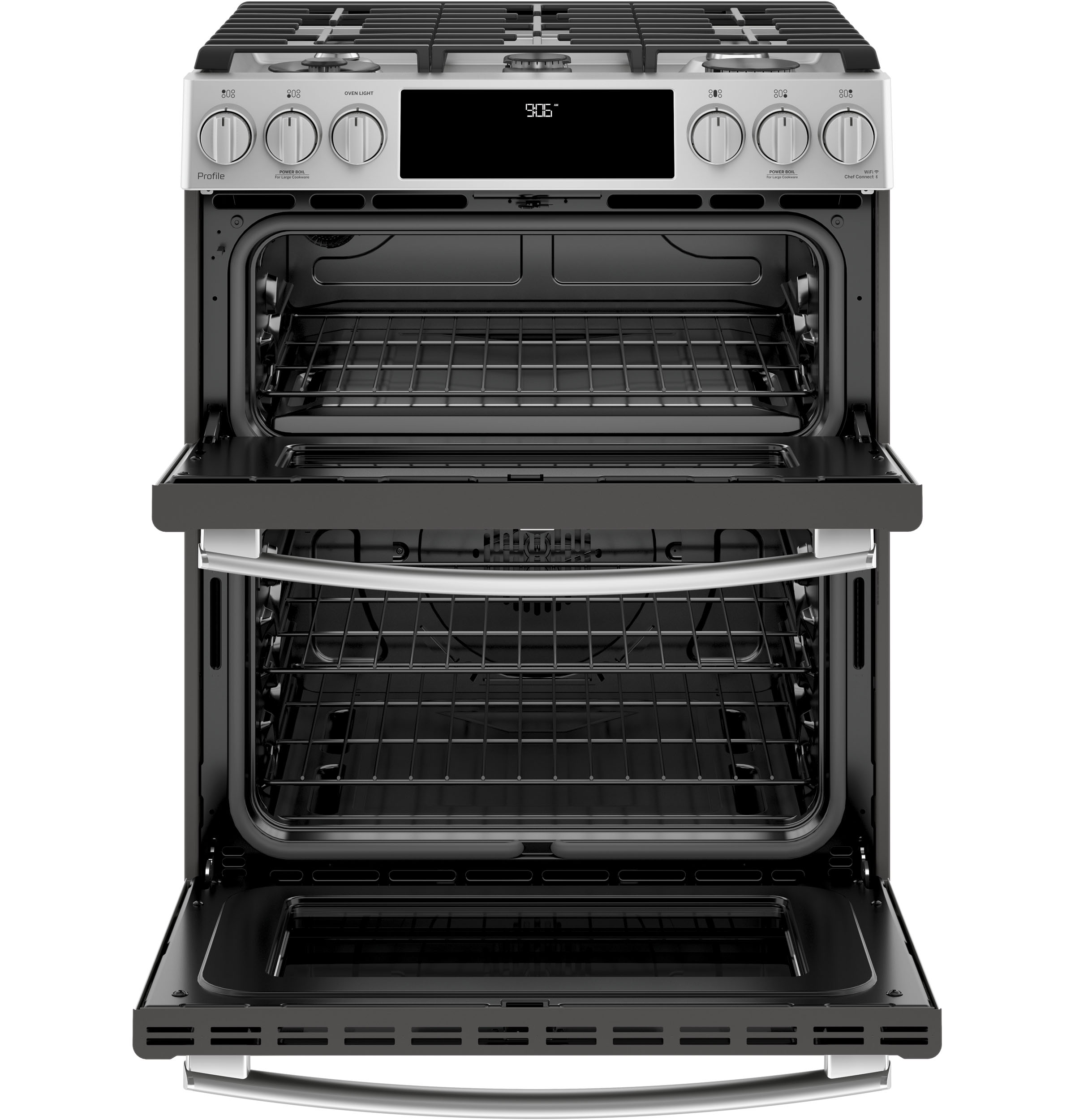 Ge Profile Series 30 Slide In Front Control Gas Double Oven Panel Wiring Diagram Product Image