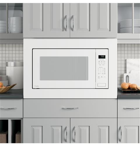 GE Profile™ Series 2.2 Cu. Ft. Built-In Sensor Microwave Oven– Model #: PEB7227DLWW