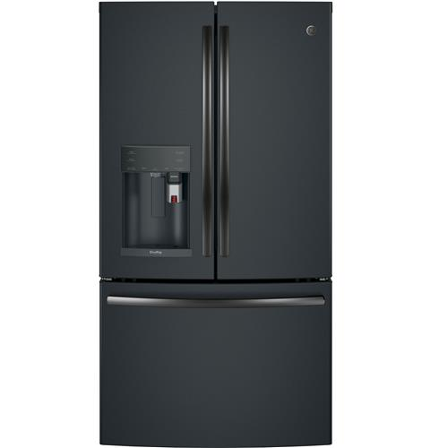 GE Profile™ Series ENERGY STAR® 27.8 Cu. Ft. French-Door Refrigerator with Keurig® K-Cup® Brewing System– Model #: PFE28PELDS