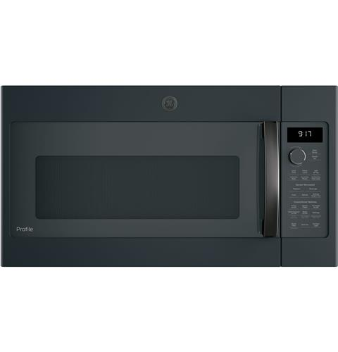 GE Profile™ 1.7 Cu. Ft. Convection Over-the-Range Microwave Oven– Model #: PVM9179FLDS