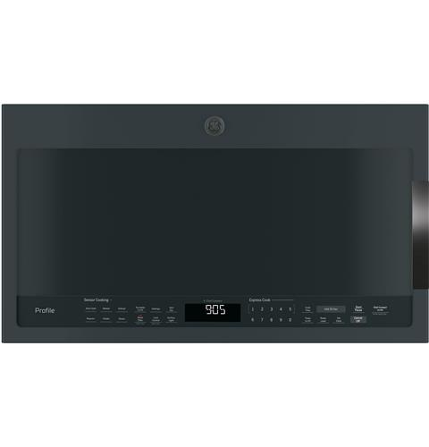 GE Profile™ Series 2.1 Cu. Ft. Over-the-Range Sensor Microwave Oven– Model #: PVM9005FMDS