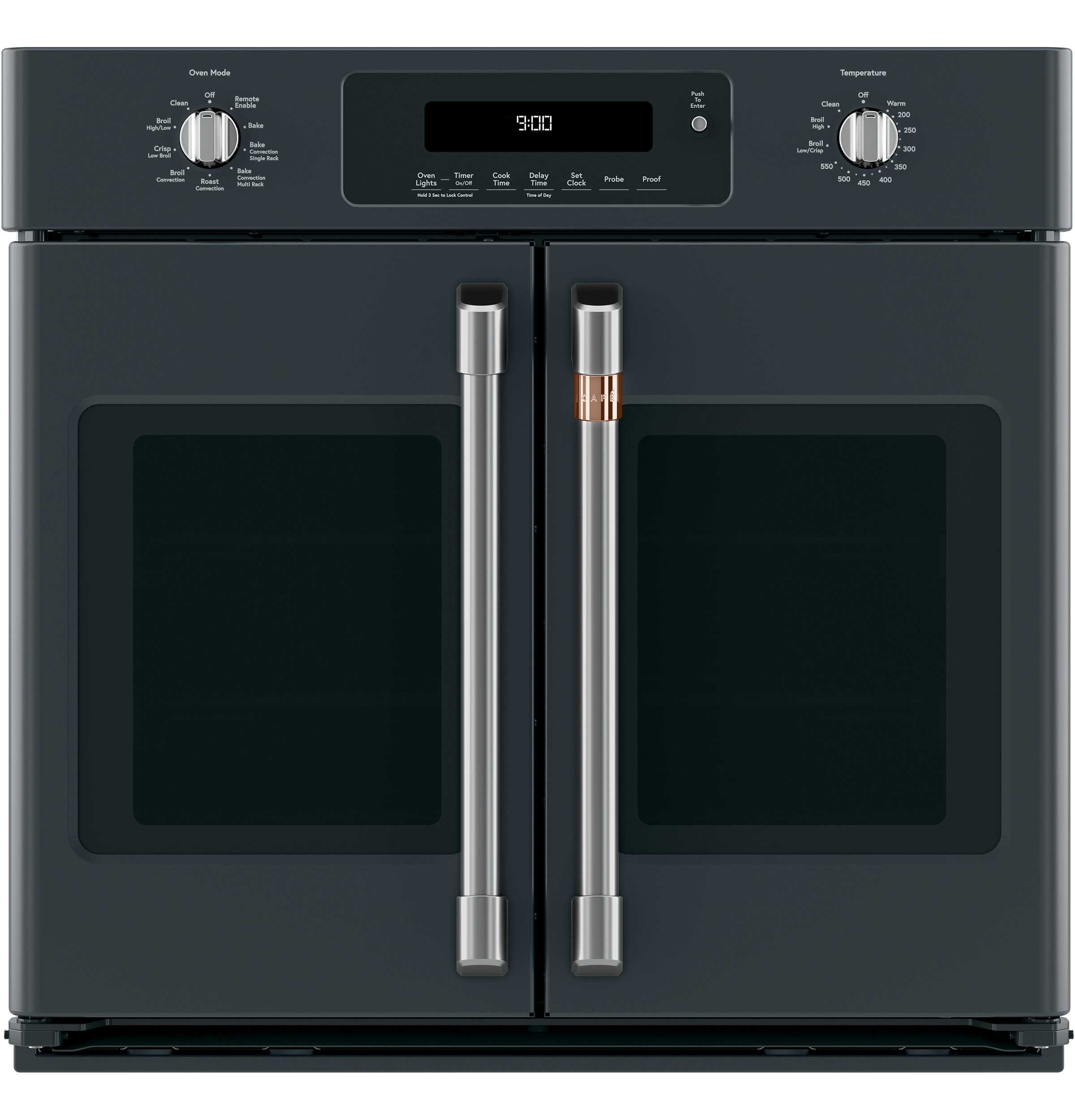 Caf 233 30 Quot Smart French Door Single Wall Oven With