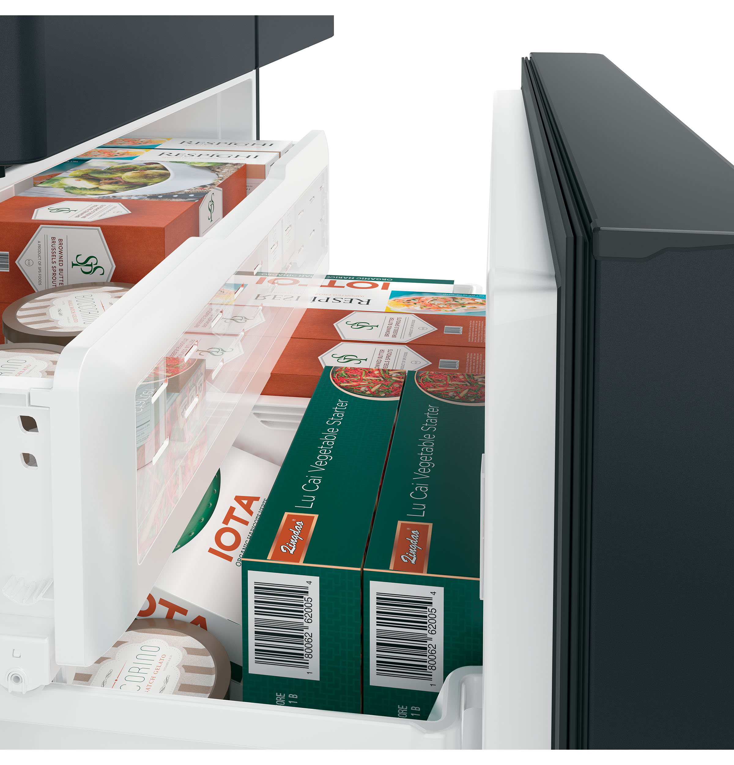 Café™ ENERGY STAR® 22.2 Cu. Ft. Counter-Depth French-Door Refrigerator with Keurig® K-Cup® Brewing System