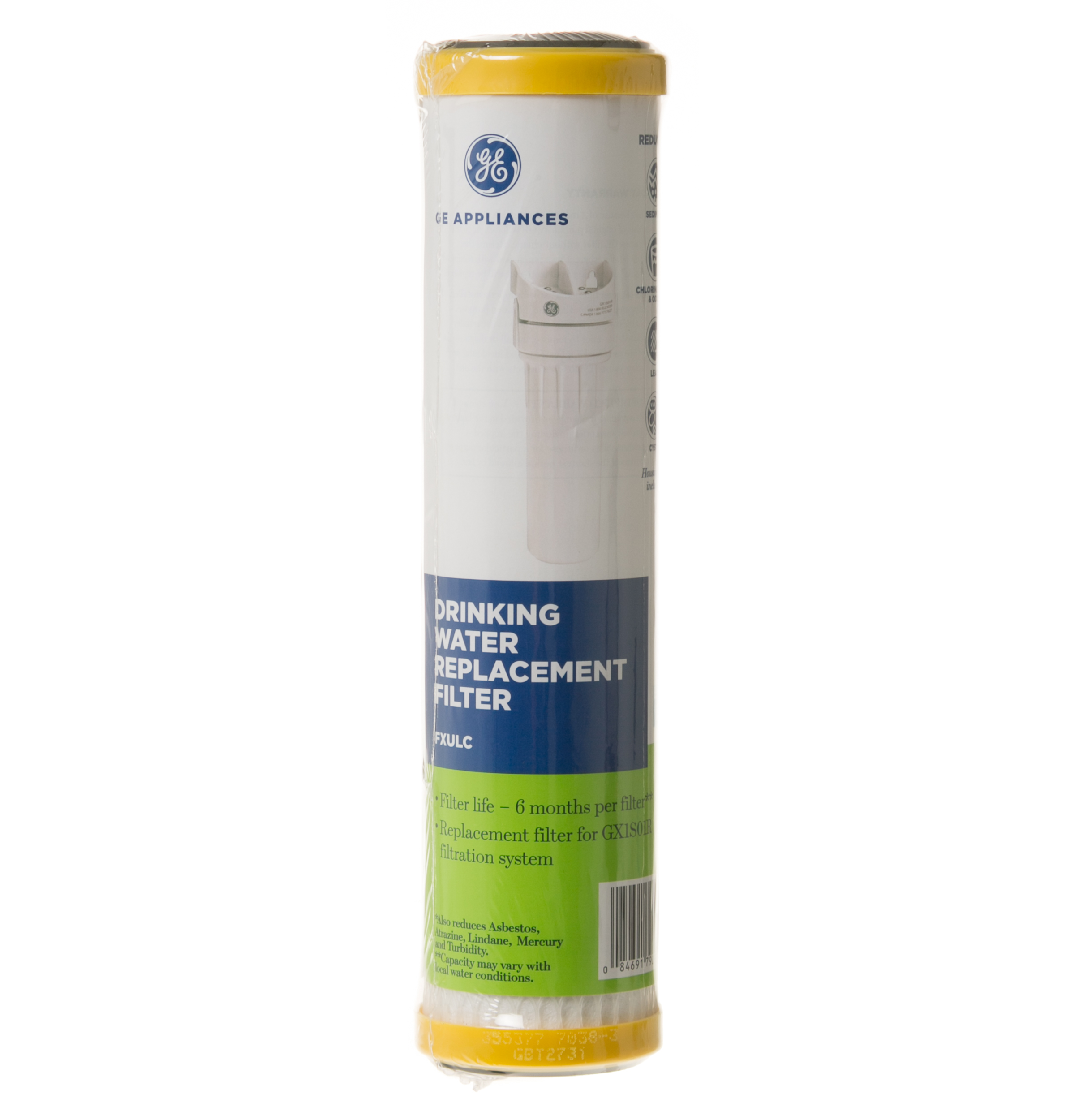 GE Universal Single Stage Replacement Water Filter Cartridge FXUTC